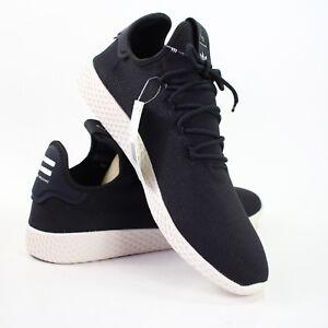 7a95ac54d3537 Adidas Pharrell Williams Mens size 13 Black White PW Tennis HU Shoes ...