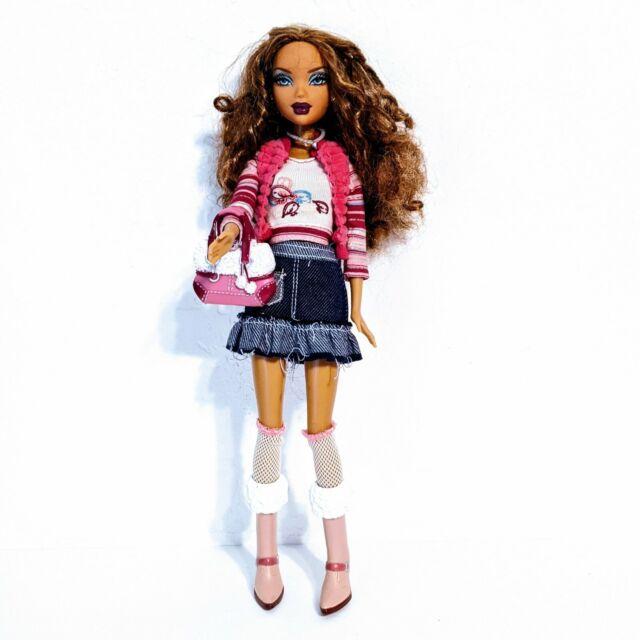 Barbie Doll My Scene Un-fur-gettable Madison Westley Outfit Jeans Skirt Vest