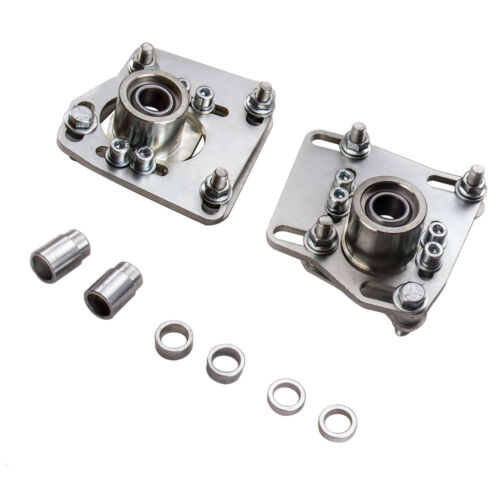 for 1994-2004 Ford Mustang V6 V8 GT Camber Caster Plates Top Mounts Pair
