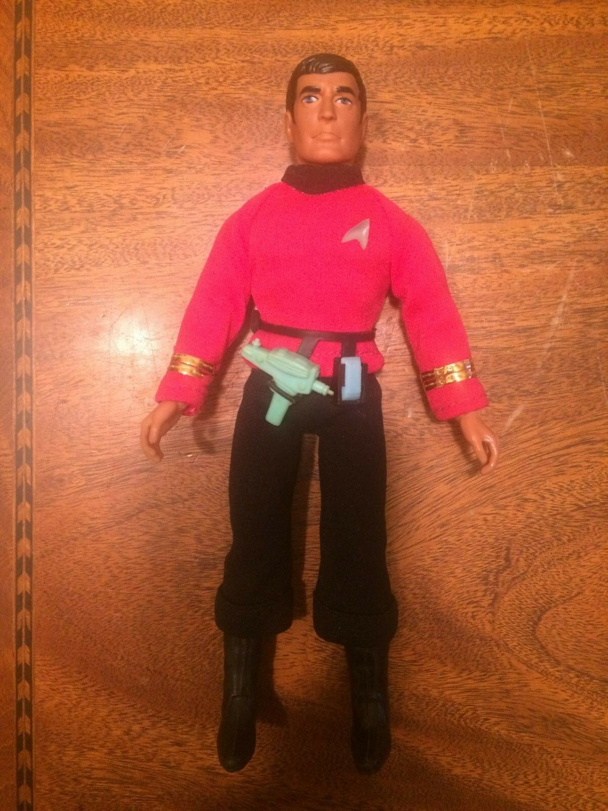 ALL ORIGINAL ORIGINAL ORIGINAL & 100% COMPLETE 1974 Mego Star Trek Scott Scottie 8  Figure MINTY acf222