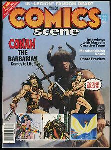 Comics-Scene-4-Magazine-article-Conan-Barbarian-1982-Movie-REH-Schwarzenegger