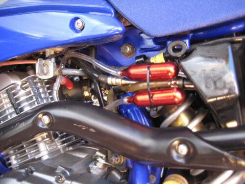Yamaha 50 70 90 100 110 125 cc ATC ATV NOS Nitrous Nitro Gas /& Boost Bottle Kit
