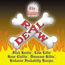 LEGENDARY RAW DEAL Flick Knifin' Low Lifin' CD  Paul Fenech  Meteors Psychobilly
