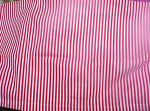 Red And White Stripe Curtains 42 Wide
