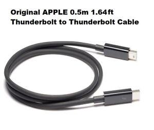 Black 0.5m Apple Thunderbolt Cable