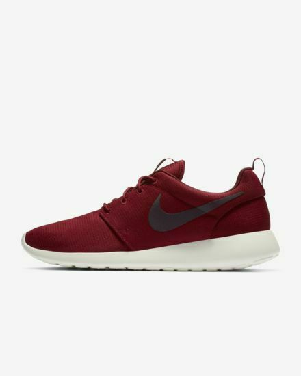 Nike Men's Roshe One Running shoes Team Red Sail Burgundy Ash 511881-613