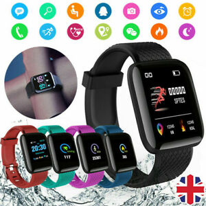 Details about New 116 Plus BT Smart Watch Wristband Bracelet Pedometer  Sport Fitness Tracker