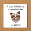 Al-Grumpy-Cat-cartolina-di-Compleanno-per-chi-ama-i-gatti-Divertente-divertente-fun-PUFFO-BRONTOLONE miniatura 1