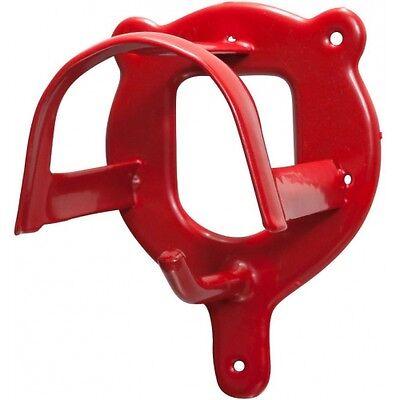 Fiducioso Briglie Supporto Fondina Supporto Staffa Muro, Metallo, Nuovo, Rosso-