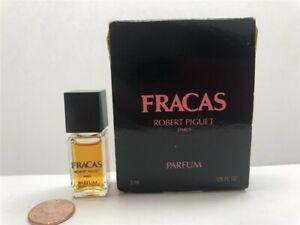 Fracas by Robert Piguet 0.125 oz/3 ml Parfum Mini for Women, Old Formula!