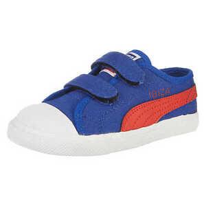 Verantwortlich Puma Ibiza Kinderschuhe Baby Sneakers Sportschuhe Eu 21 Blau/rot