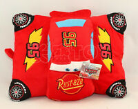 Pixar Cars Lightning McQueen Cushion Pillow Soft Plush Toy Doll