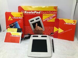 Koala-Pad-Touch-Tablet-Apple-II-II-IIe-Model-1001A-Vintage-Computer