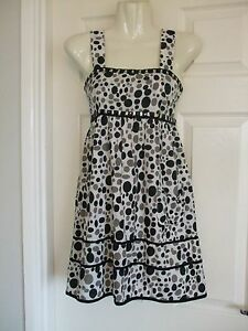 Multi-Spotted-Beaded-Sequin-Dress-Size-8-Womens-Summer-Sexy-Smart-Evening