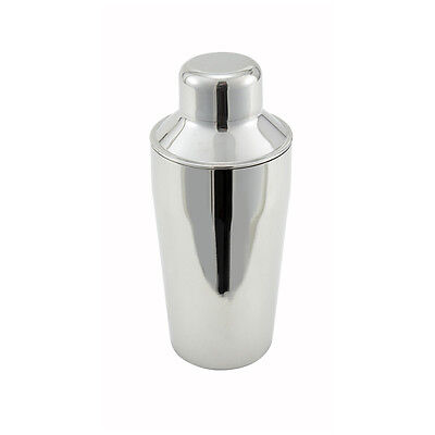 Mini STAINLESS STEEL Martini Boston SHAKER 3-Piece Cocktail Mixer Tin 10 oz