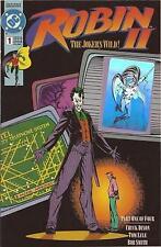 ROBIN II   # 1  - COMIC - 1991  -  9.6 - HOLO