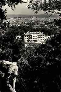 SOPRON-Odenburg-in-UNGARN-Teilansicht-AK-alte-Postkarte-Ansichtskarte-ungelaufen