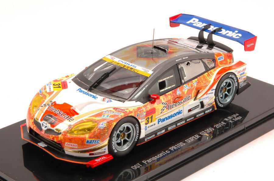 Toyota Prius th Super gt300 2014 m. Nitta k. saga 1 43 Model 45080 EBBRO