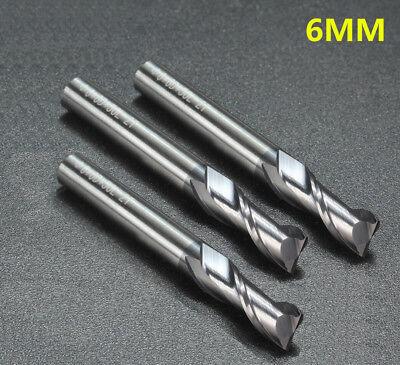 5PCS  2mm HRC45 2  flute Tungsten Carbide End Mill milling cutter  for aluminum