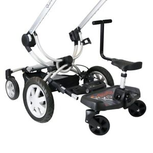 Black Ride On Board With Saddle Compatible With Mountain Buggy Nano