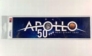 NASA-APOLLO-50-Bumper-Sticker-Official-Authentic-Collectible-10-034