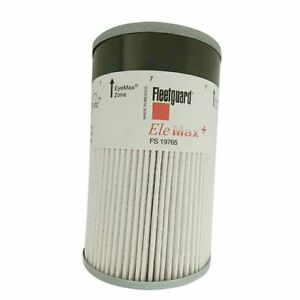 Fuel Water Separator Filter >> Details About 1 Fleetguard Fuel Water Separator Filter Fs19765 Cummins Isx Paccar Mx