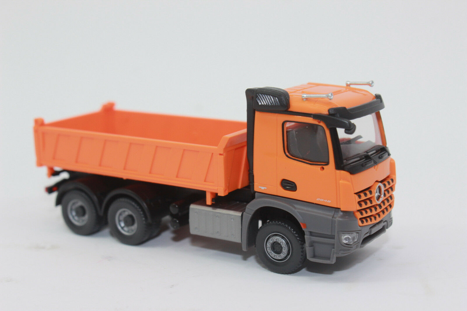 Wiking 067848 Three-Way Tipper MB Arocs Communal orange H0 1 87 New + Original