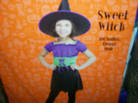 Happy Halloween Costumes ( Youth Size ) Princess, Vampire & Witch