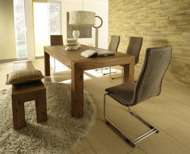 Größen Küchentisch Esstisch Tisch Natur Massiv