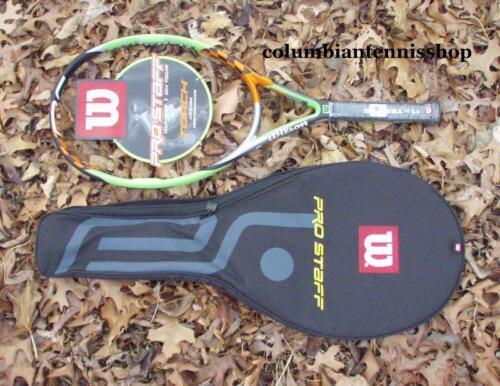 Deux nouveaux Wilson Pro Staff Torch Raquette de tennis COVER RARE 110 HPS Original Oversize 3//8