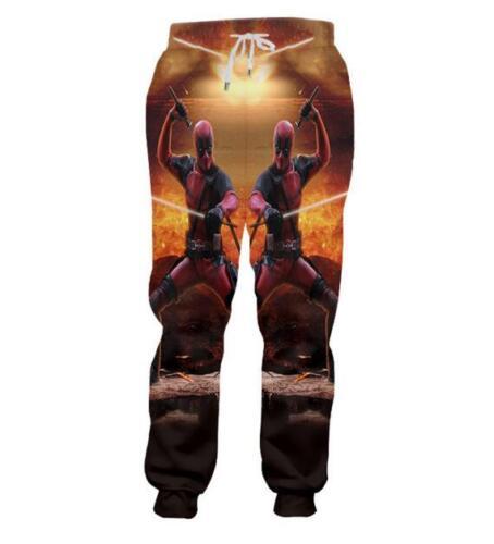 Super Hero Deadpool 3D Print Casual New Women Men Jogger pants Sweatpants