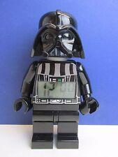 "star wars LARGE lego DARTH VADER ALARM CLOCK MINIFIGURE kid 9"" K17"