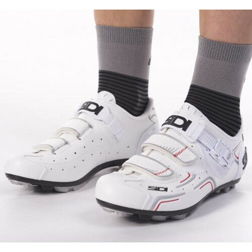 New 2017 SIDI BUVEL Woman MTB Off Road Mountain Bike Cycling shoes White EU37-39