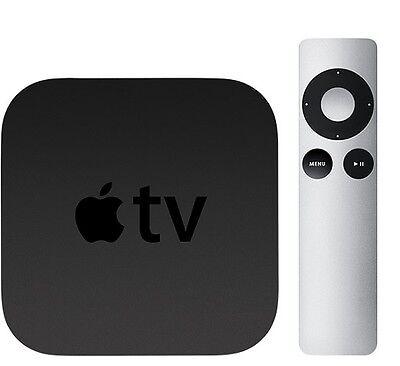 Apple TV 2nd Gen HDMI MC572LL//A Digital Media Streaming HD NO REMOTE