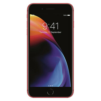 """Apple iPhone 8 Plus 256GB """"Factory Unlocked"""" (PRODUCT)RED 4G LTE iOS Smartphone"""