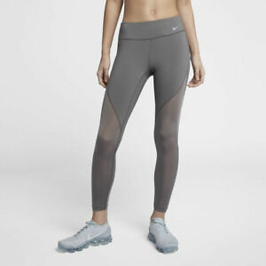 Nike-Epic-Lux-Running-Tights-Size-Small-AH6094-036-Gunsmoke-Grey