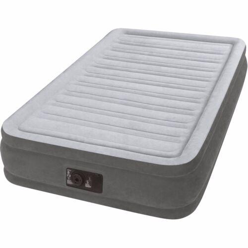 "Twin Air Mattress 13/"" Bed Size Built In Pump Intex Air Aero Inflatable Bed"