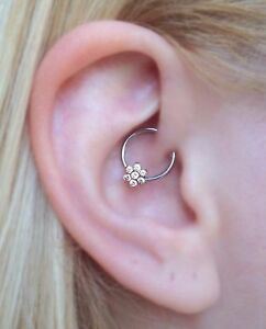 Daith Jewelry Rook Earringhelix Ringcartilage Piercingnipple