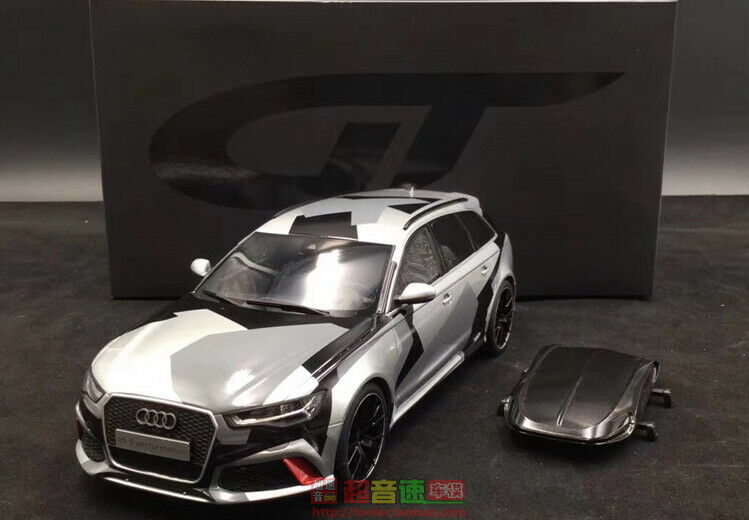 Gt spirit 1 18 Audi RS6 Snow camouflage version with suitcases