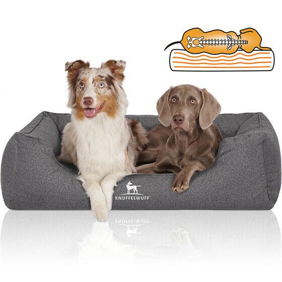 Knuffelwuff Orthopädisches Wasserabweisendes Hundebett Malou Grau