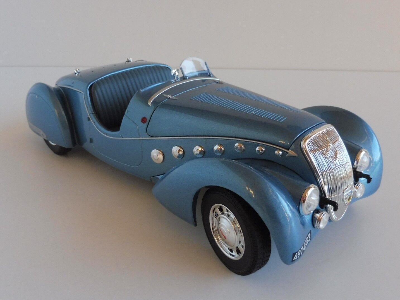 Peugeot 302 Darl Mat Roadster bluee Metallic 1937 1 18 Norev 184821 Darl ´ Mat