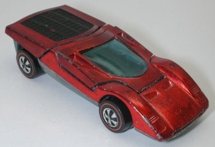 Redline Hotwheels Red 1972 Ferrari 512S oc14391