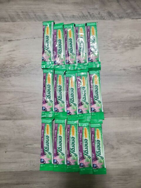 Emergen-C Energy Plus Fizzy Drink Mix Blueberry Acai 15 packets - BB 03/22