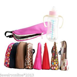 1 babyflasche tasche beutel isoliertasche k hltasche f r kinderwagen jo ebay. Black Bedroom Furniture Sets. Home Design Ideas