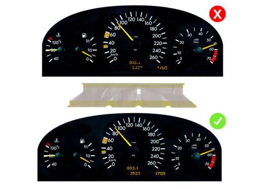 LETRONIX Mercedes W210 S210 Tacho Multifunktions Display Pixel Reparatur Folie