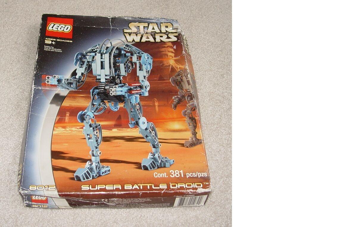 Lego Star Star Star Wars 8012 Super Battle Droid Factory Sealed 35d1df