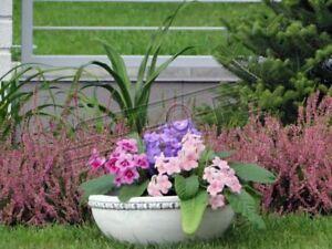Intelligent Panier Fleurs Vase Vase De Jardin Terrasse Décoration Statue Personnages S204042-afficher Le Titre D'origine