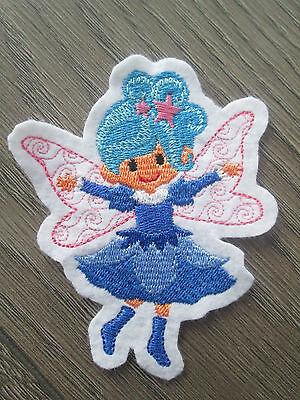 Fairy # Bügel Applikation Flicken Patch Aufbügler Aufnäher Engel Fee 6