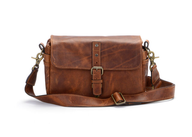 Ona The Bowery Leather Antique Cognac Camera Handcrafted Premium Bag
