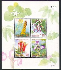 Thailand 1997 Flowers/New Year/Nature 4v m/s (n32145)